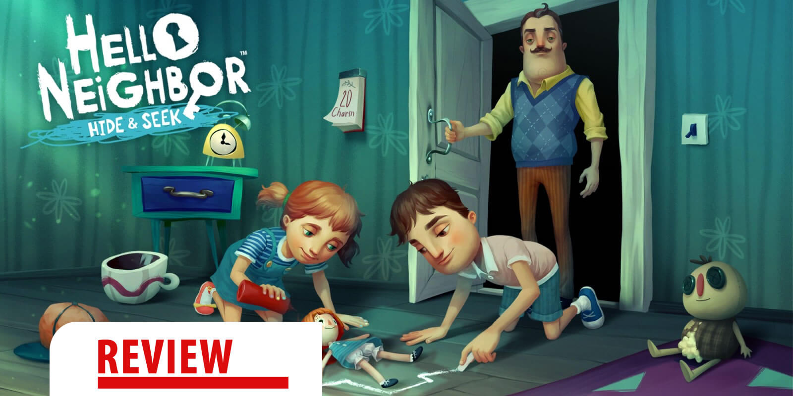 Review: Hello Neighbor Hide and Seek